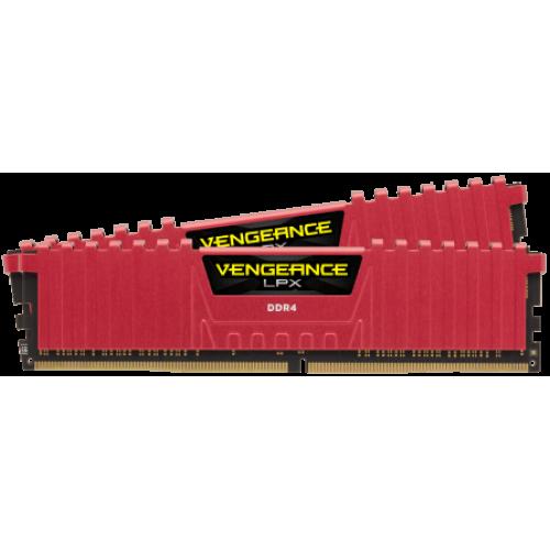 Модуль памяти Corsair Vengeance LPX 16GB (2x8) DDR4 3200MHz (CMK16GX4M2B3200C16R)