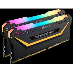 Модуль памяти Corsair Vengeance RGB PRO TUF Gaming Edition 16GB(2x8) DDR4 3200MHz (CMW16GX4M2C3200C16-TUF)