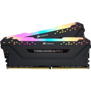 Модуль памяти Corsair Vengeance RGB PRO 16GB(2x8) DDR4 3000MHz (CMW16GX4M2C3000C15W)