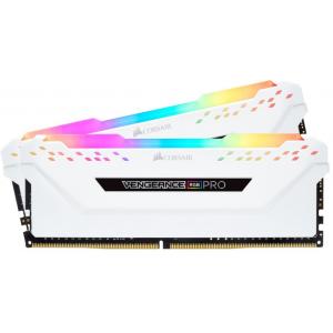 Модуль памяти Corsair Vengeance RGB PRO White 16GB(2x8) DDR4 3600MHz (CMW16GX4M2D3600C18W)