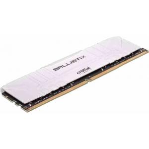 Модуль памяти Crucial Ballistix White 16GB (1x16) DDR4 3000MHz (BL16G30C15U4W)