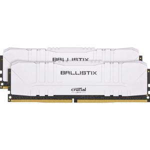 Модуль памяти Crucial Ballistix White 16GB (2x8) DDR4 3000MHz (BL2K8G30C15U4W)