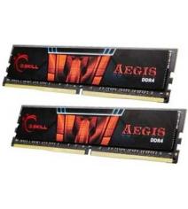 Модуль памяти G.Skill Aegis 16GB (2x8) DDR4 2400MHz (F4-2400C17D-16GIS)