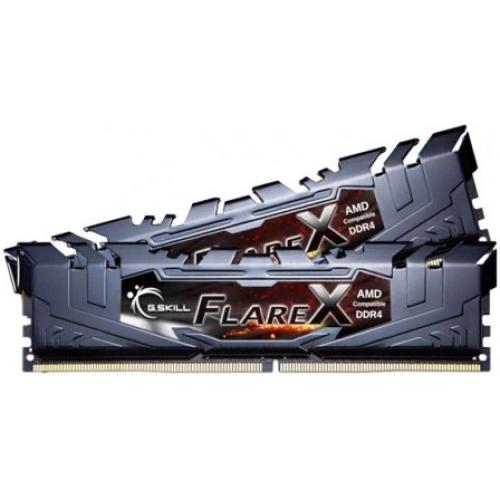 Модуль памяти G.Skill FlareX 32GB (2x16) DDR4 2400MHz (F4-2400C16D-32GFX)