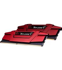 Модуль памяти G.Skill RipjawsV 16GB (2x8) DDR4 2400MHz (F4-2400C17D-16GVR)