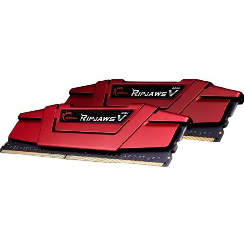 Модуль памяти G.Skill Ripjaws V 16GB (2x8) DDR4 3000MHz (F4-3000C15D-16GVR)