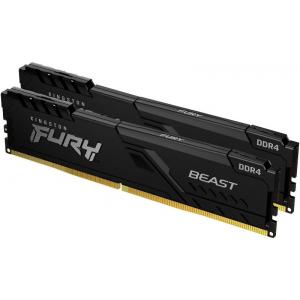 Модуль памяти Kingston HyperX Fury Beast Black 32Gb (2x16) 3733 MHz (KF437C19BB1K2/32)