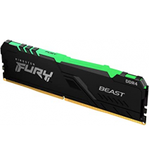 Модуль памяти Kingston HyperX Fury Beast RGB 16Gb (1x16) DDR4 2666 MHz (KF426C16BBA/16)