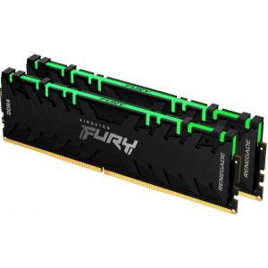 Модуль памяти Kingston Fury Renegade RGB 16Gb (2x8) DDR4 4266 MHz (KF442C19RBAK2/16)