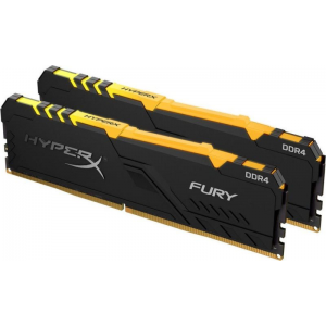 Модуль памяти Kingston HyperX Fury RGB 16GB (2x8) 3733 MHz (HX437C19FB3AK2/16)