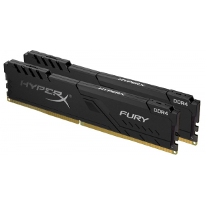 Модуль памяти Kingston HyperX Fury 16Gb (2x8) DDR4 2666 MHz (HX426C16FB3K2/16)