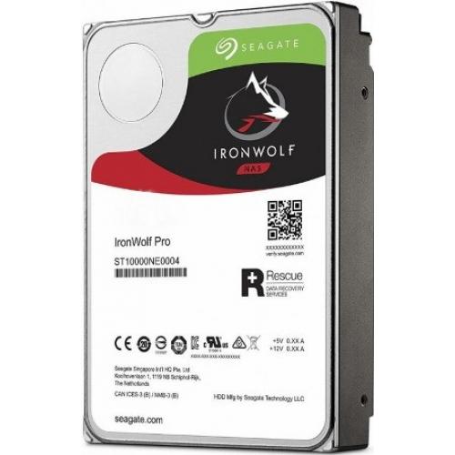 Жесткий диск Seagate IronWolf Pro 3.5 HDD ST10000NE0004