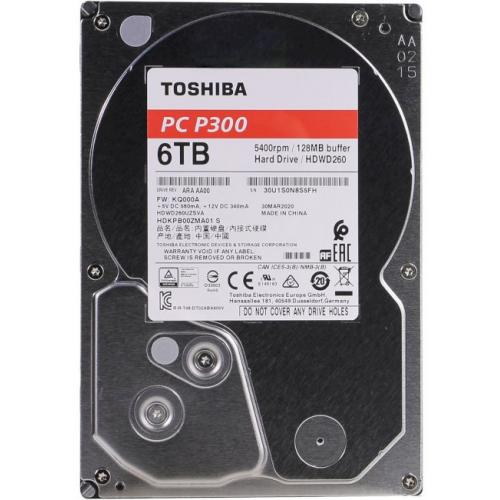 Жесткий диск Toshiba P300 6TB (HDWD260UZSVA)
