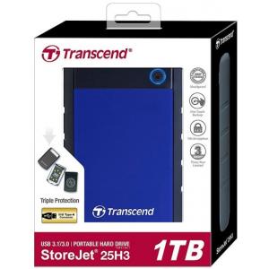 Жесткий диск Transcend StoreJet 25H3 1TB (TS1TSJ25H3B)