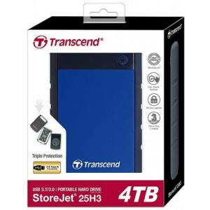 Жесткий диск Transcend StoreJet 25H3 4TB (TS4TSJ25H3B)