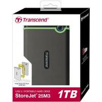 Жесткий диск Transcend StoreJet 25M3 1TB (TS1TSJ25M3S)