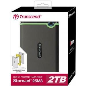 Жесткий диск Transcend StoreJet 25M3 2TB (TS2TSJ25M3S)