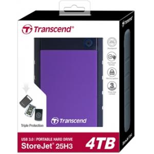 Жесткий диск Transcend StoreJet 4TB (TS4TSJ25H3P)