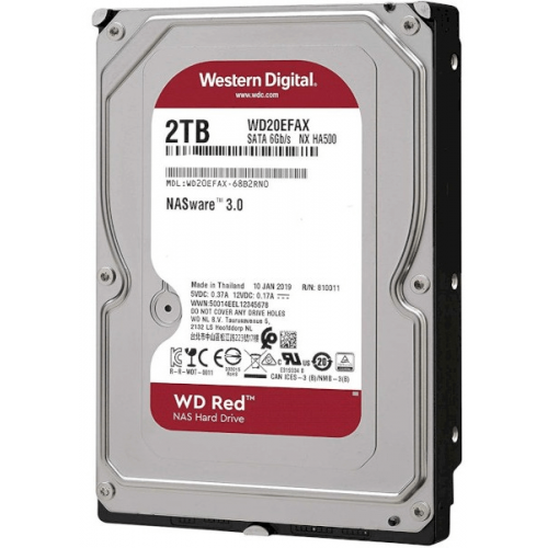 Жесткий диск Western Digital WD Caviar Red 2TB (WD20EFAX)