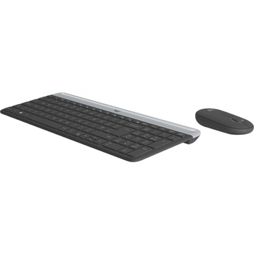 Комплект Logitech MK470 Wireless Combo Graphite (920-009206)