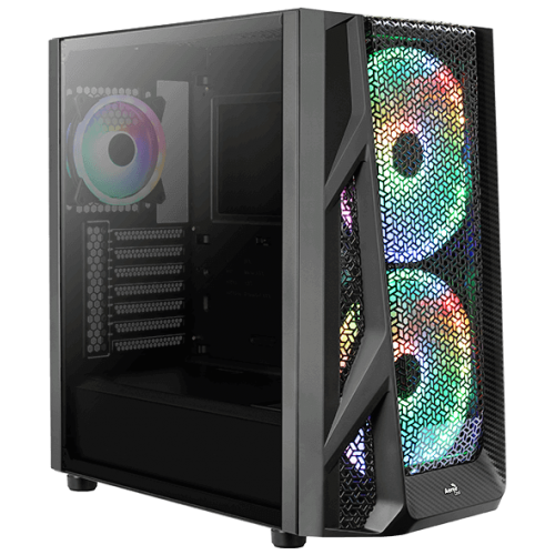 Корпус Aerocool AirHawk Duo ARGB Tempered Glass Black (AirHawk Duo-G-BK-v1)