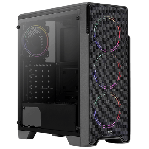 Корпус Aerocool Ore Tempered Glass (Ore FRGB-G-BK-v1)