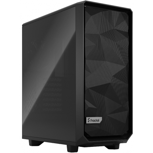 Корпус Fractal Design Meshify 2 Compact Dark Tempered Glass (FD-C-MES2C-02)