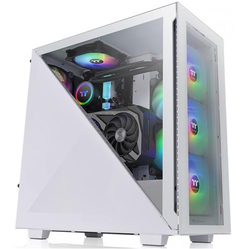 Корпус Thermaltake Divider 300 Tempered Glass Snow ARGB (CA-1S2-00M6WN-01)