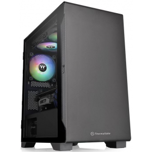 Корпус Thermaltake S100 Tempered Glass (CA-1Q9-00S1WN-00)
