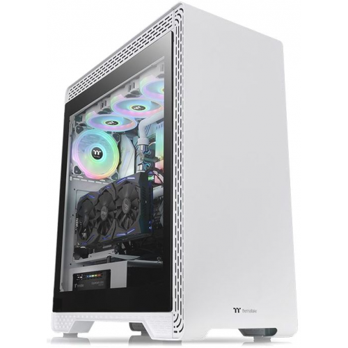 Корпус Thermaltake S500 Tempered Glass Snow Edition (CA-1O3-00M6WN-00)