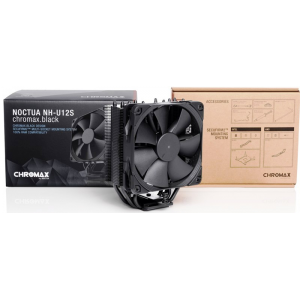 Кулер процессорный Noctua NH-U12S CHROMAX.BLACK