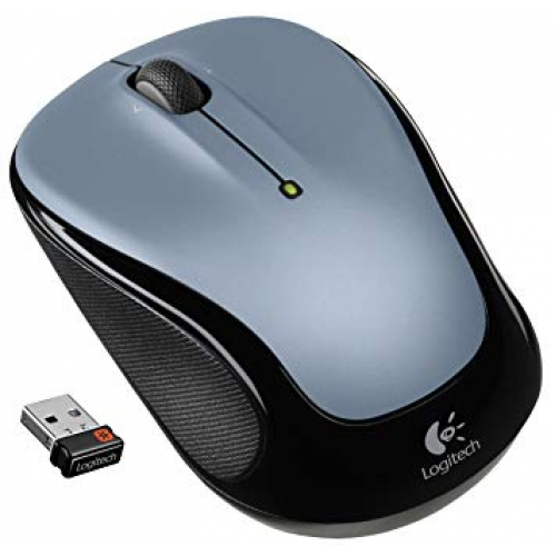 Мышь Logitech M325 Wireless Mouse Light Silver (910-002334)