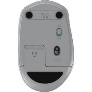 Мышь Logitech Wireless Mouse M590 Multi-Device Silent - MID GREY TONAL (910-005198)