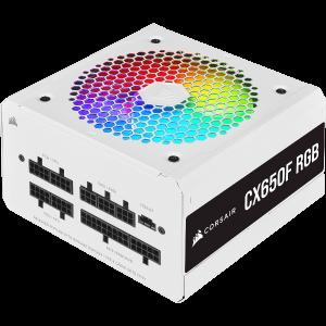Блок питания Corsair CX650F RGB White (CP-9020226-EU)