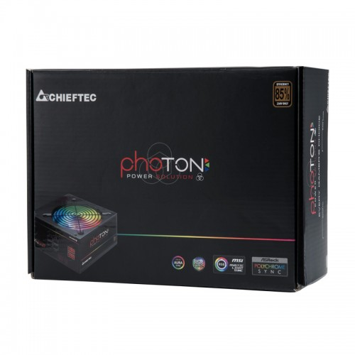 Блок питания Chieftec Photon 650W (CTG-650C-RGB)