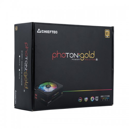 Блок питания Chieftec Photon Gold GDP-650C-RGB