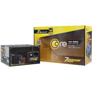 Блок питания Seasonic CORE GX-650 Gold (SSR-650LX)