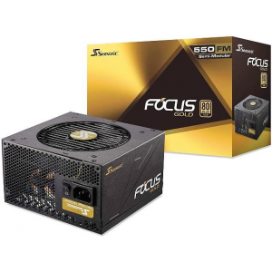 Блок питания Seasonic FOCUS GM-550 Gold (SSR-550FM)