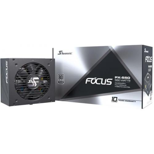 Блок питания Seasonic FOCUS PX-550 550W Platinum (SSR-550PX)