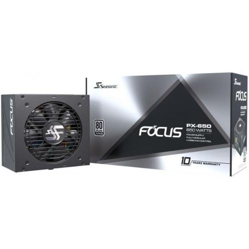 Блок питания Seasonic FOCUS PX-650 Platinum (SSR-650PX)