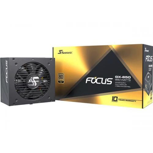 Блок питания Seasonic FOCUS GM-850 Gold (SSR-850FM)