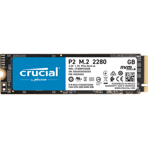 Диск SSD Crucial P2 1TB (CT1000P2SSD8)
