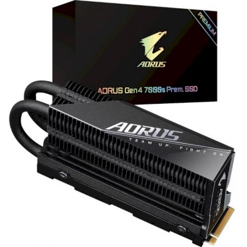 Диск SSD Gigabyte AORUS Gen4 7000s Premium SSD 1TB (GP-AG70S1TB-P)