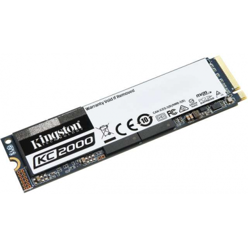 Диск SSD Kingston KC2000 500GB (SKC2000M8/500G)