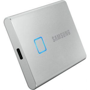 Диск SSD Samsung T7 Touch 500GB Silver (MU-PC500S/WW)