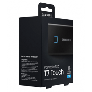 Диск SSD Samsung T7 Touch 500GB (MU-PC500K/WW)