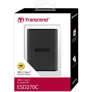 Диск SSD Transcend ESD270C 500GB (TS500GESD270C)
