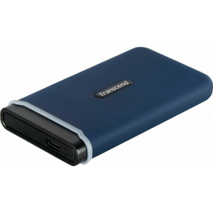 Диск SSD Transcend ESD370C 500GB Navy Blue (TS500GESD370C)