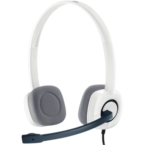Гарнитура Logitech Stereo Headset H150 CLOUD WHITE (981-000350)
