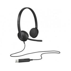 Гарнитура Logitech USB Headset H340